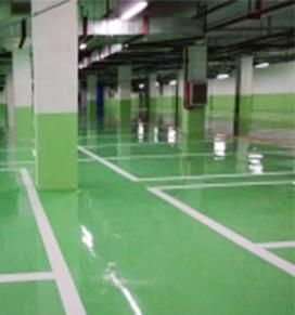 环氧平涂地坪工程案例