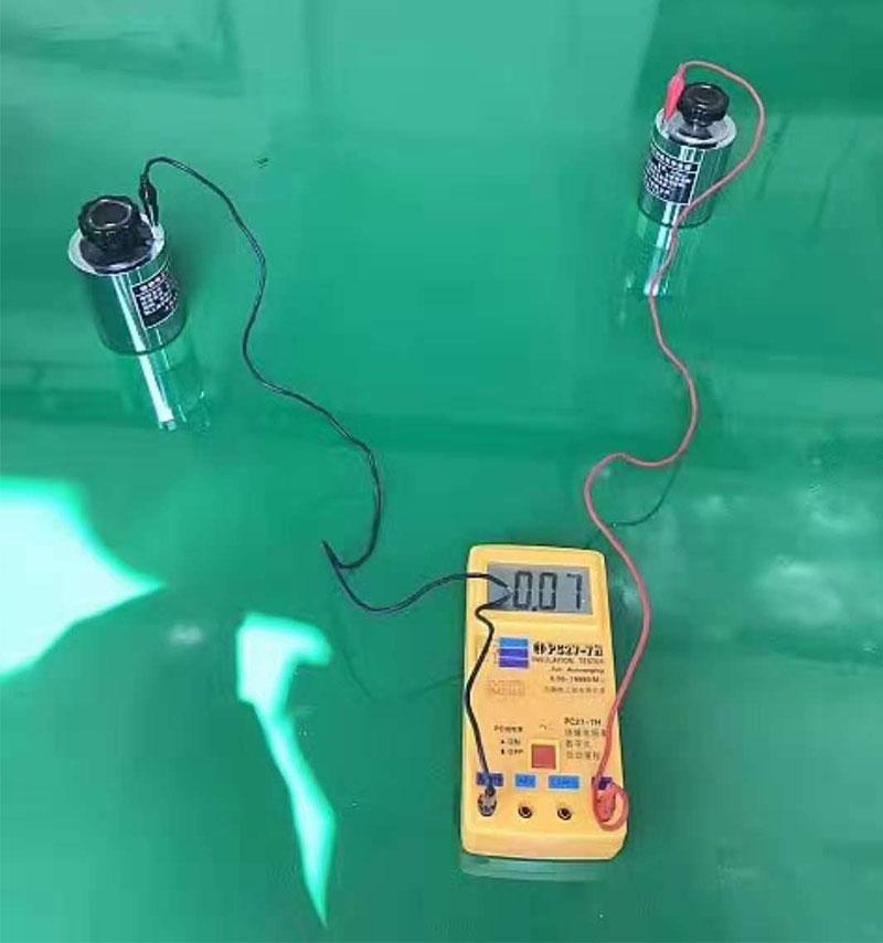 环氧防静电自流平地坪