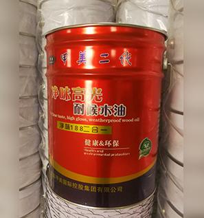 净味高光耐候木油